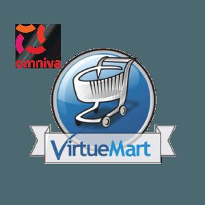 Omniva pakiautomaatide ja postkontorite tarnemoodul VirtueMartile